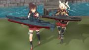 【MMD艦これ】ラジコン大海戦【大和型戦艦】