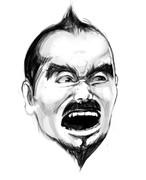 マスコット的な韓当さんの顔