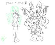 Big Sister HSI Cosplays Miku