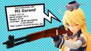 艦娘による銃器紹介 #3「M1ガーランド」
