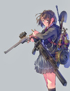 武装女子高生