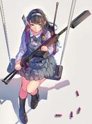 武装女子小学生