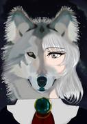 半獣狼「オオカミの彼女」