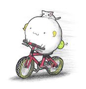 サイクリングヒツジ