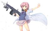 女子高生とAA-12