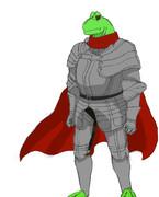 蛙の王様。3