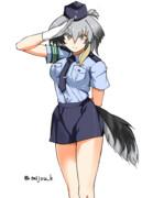 働くハシビロちゃん その1 警官