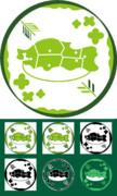 【東北ずん子】家紋風?ロゴ
