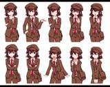 ニコ童祭開催告知の文ちゃんの表情集!