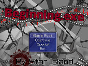 自作ゲーム第4弾「Beginning.exe」公開中!(ver.1.01)