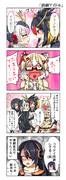 【けもフレ4コマ漫画】「演劇アイドル」