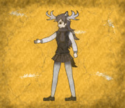 【壁画】ヘラジカ