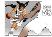 キツネの里のバスケ代表選手
