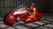 アキラのバイク