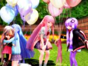 琴葉姉妹お誕生日おめでとう!ちびゆかいあからのお祝い