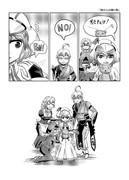 東方壱枚漫画録60「姉からの贈り物」
