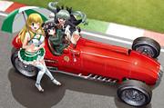 comic1☆11新刊「ガルパンGPペパロニ、フェラーリに乗る」