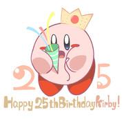 カービィ25周年記念!