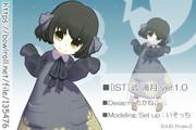 【MMD】[IST]式 満月 ver1.1【モデル配布】