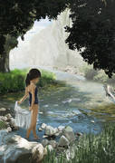 スク水のある風景 1