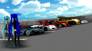 色んなレースカー