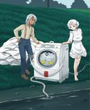 ヒゲの洗濯機