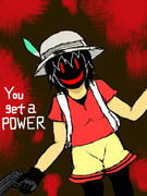 You get a POWER