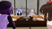 夕食会:グループ1 ②