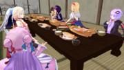 夕食会:グループ1 ③