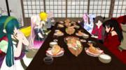 夕食会:グループ4 ③