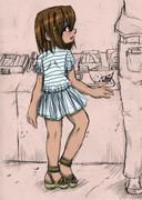 うどん屋で見た幼女