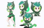 【MMD-OMF7】パンサーカメレオン【モデル配布】
