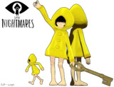 【MMD x Little Nightmares】Six