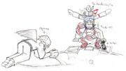 【残念画力】バッター:少名針妙丸