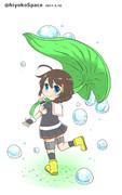 時雨ちゃんの傘これ