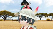 【東方MMDクロスオーバー祭2】かばんちゃんとおわんちゃん