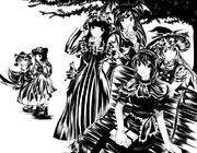 魔理沙さんをめぐる六角関係(問510:文字無し版)