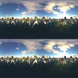 【360° VR 3D画像 4K】鳥海 摩耶 いっぱい VRA04【艦隊これくしょん】