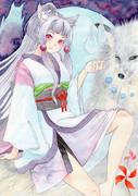 狐の神様とイタコ姉様
