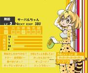 サーバルちゃん(けものフレンズ)がペルソナ4に登場!?