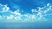 【MMDステージ配布】水色と光の夏 TU2【スカイドーム】