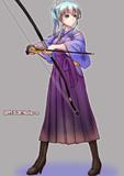 空母になると聞いて「かっこいいから」との理由で弓道型を目指して練習をしていた鈴谷