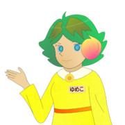JR8DAGのAM & QRP ホームページのイメージキャラクターのゆめこ(夏服(1))