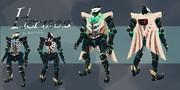 中量級装甲:Hermes(ヘルメース)