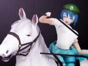 【MMD】熟女騎乗