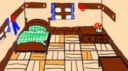 【スーパーマリオRPG】マリオの家の中