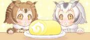 博士と助手とロールケーキ