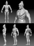 金剛さんの貴重な裸体