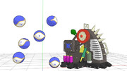 【MMDモデル配布】遊戯王OCGモデルセット3【遊戯王】