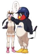 失礼ペンギンに鉄拳制裁